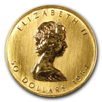 Canadian Gold Maple Leaf Coins Are Available from Seven Star Enterprises.