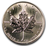 $5 Canadian Silver Maple Leaf Coins Available from Seven Start Enterprises